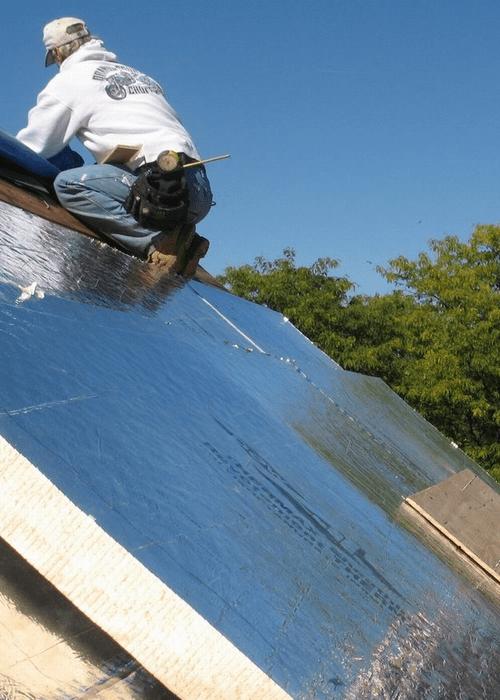 pose-panneaux-isolants-toiture