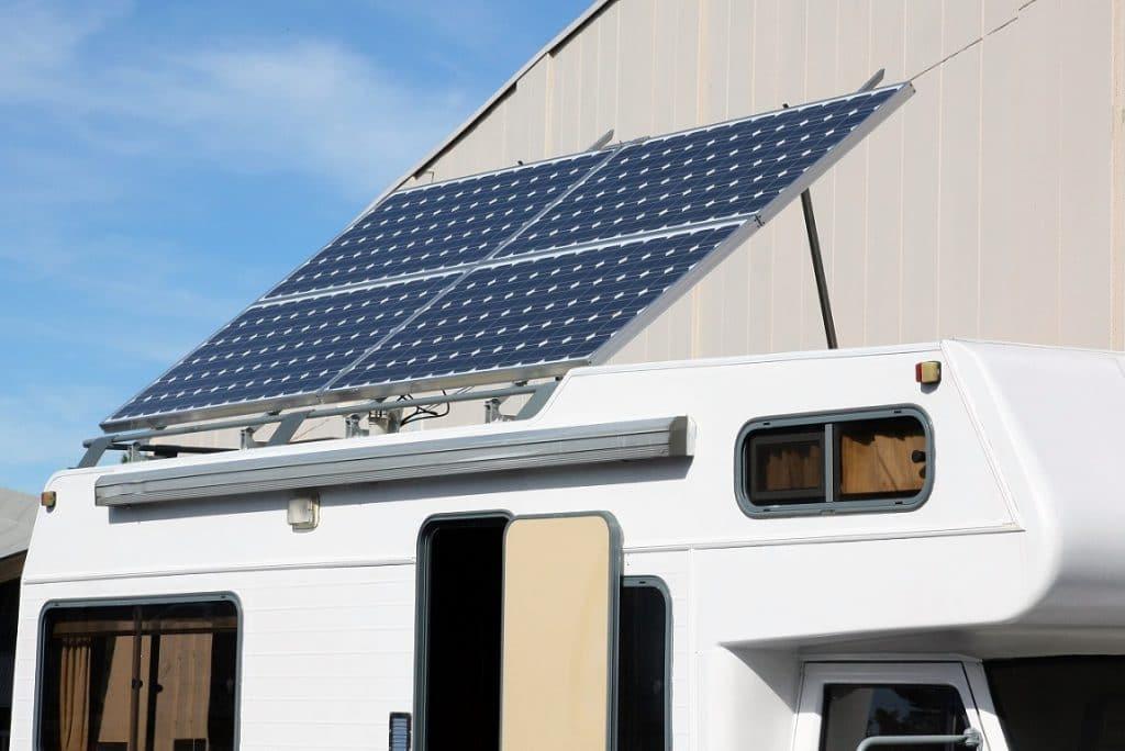 Panneaux solaires et camping-car